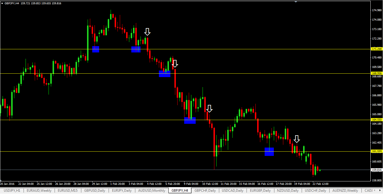 Support Level Breakout Forex Trading Strategy