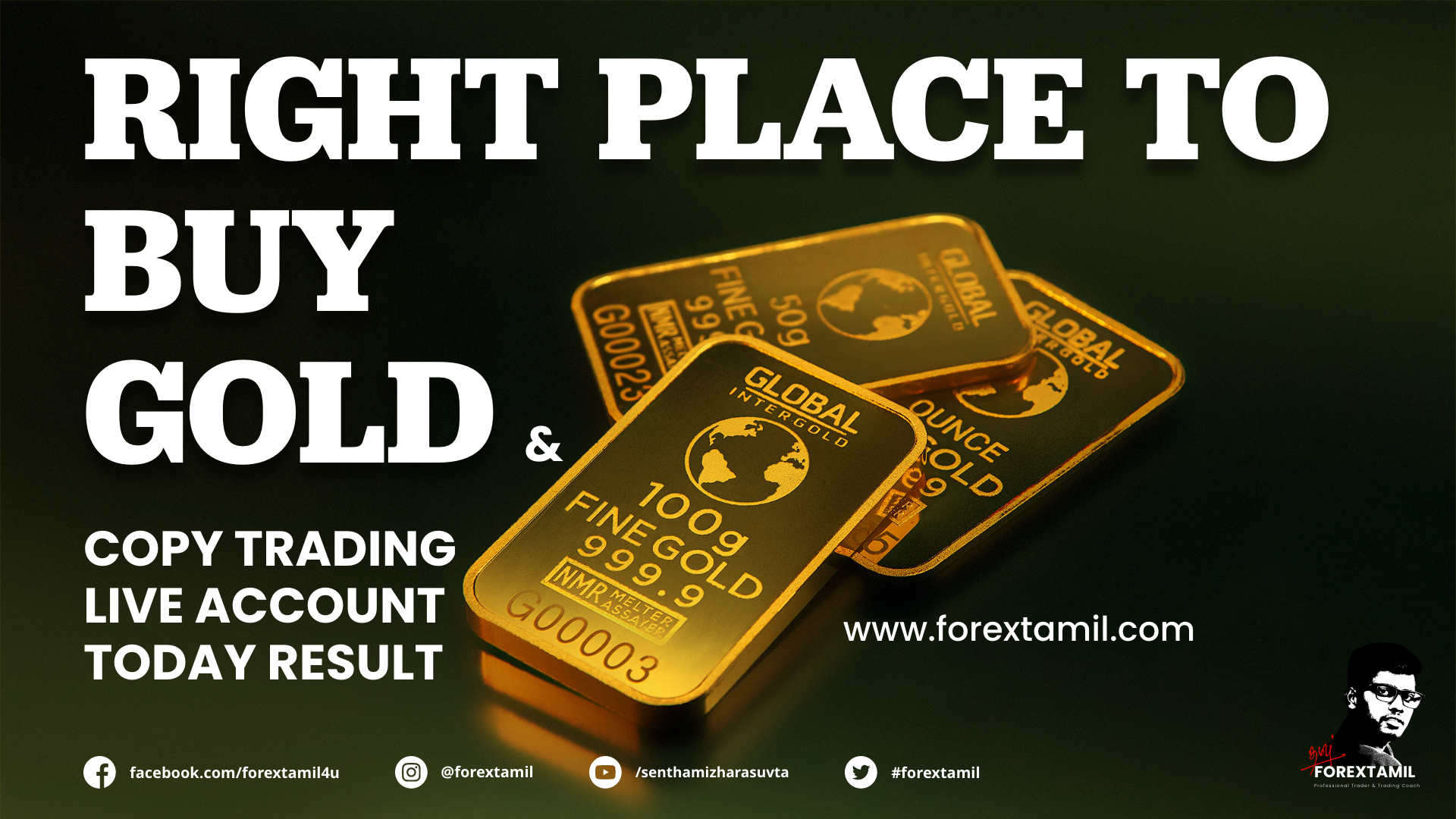 Right Place To Buy GOLD And Copy Trading Live Account Today Result