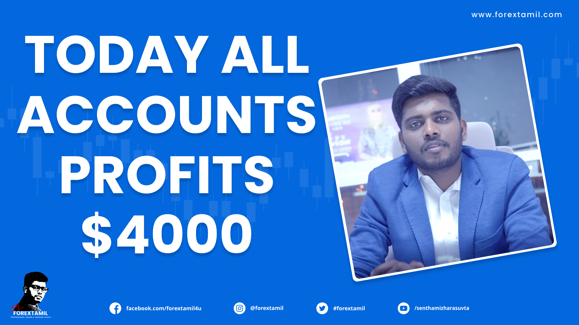 Today All Copy Trading Accounts Profit Results More Than 4000 USD